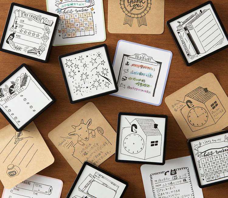 Midori Sticky Notes Pickable Plain