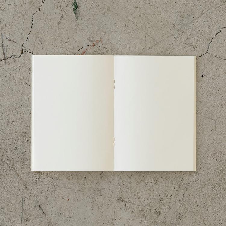Midori MD Notebook Light [A6] Blank 3-pack