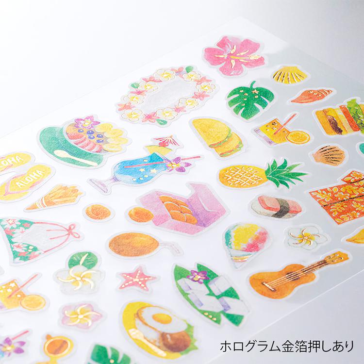 Midori Sticker Marché Hawaii