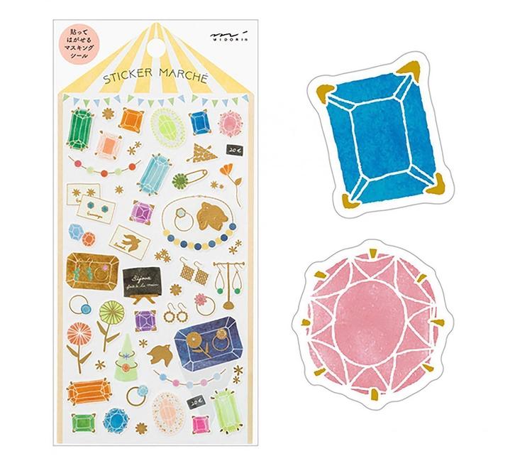 Midori Sticker Marché Accessory