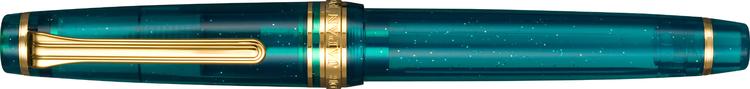 Sailor Professional Gear Slim (Sapporo) – Blue Green Nebula