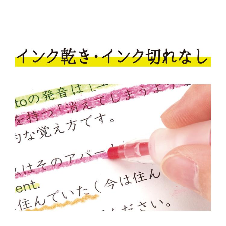 Kutsuwa Neonpitsu Knock Highlighter Pencil
