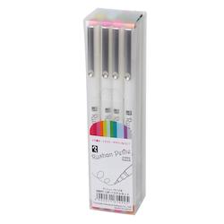 Teranishi Rushon Petite Pen 0,3 mm – Pastel (12-pack)