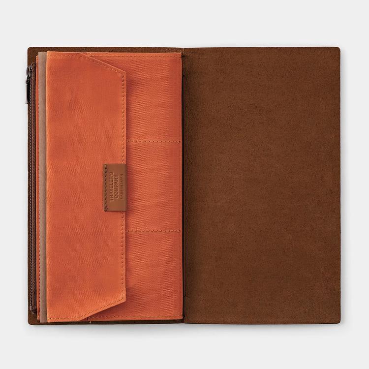 Traveler's Company Traveler's notebook - Cotton Zipper Case Orange, Regular Size (B-Sides & Rarities)