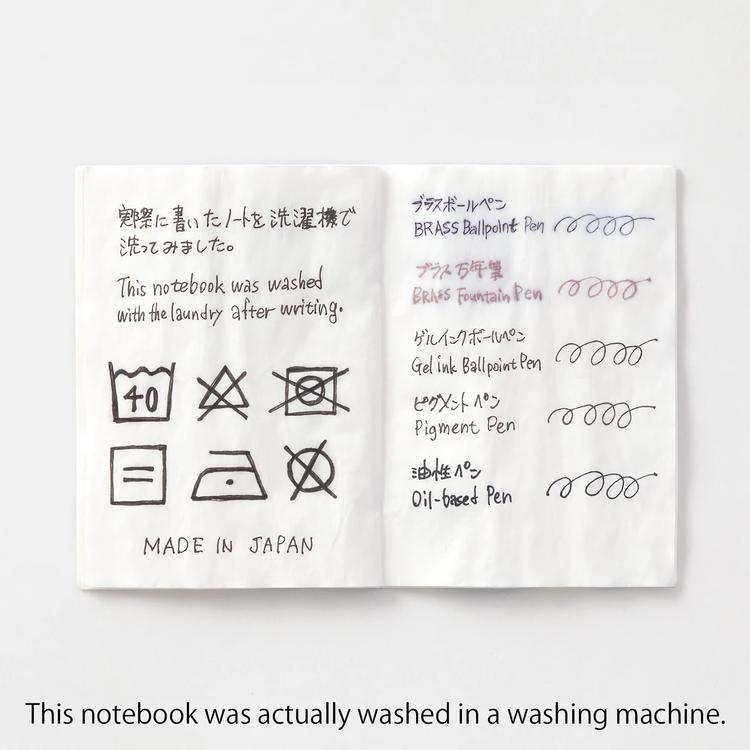 Traveler's Company Traveler's notebook - Washable Paper, Passport Size (B-Sides & Rarities)