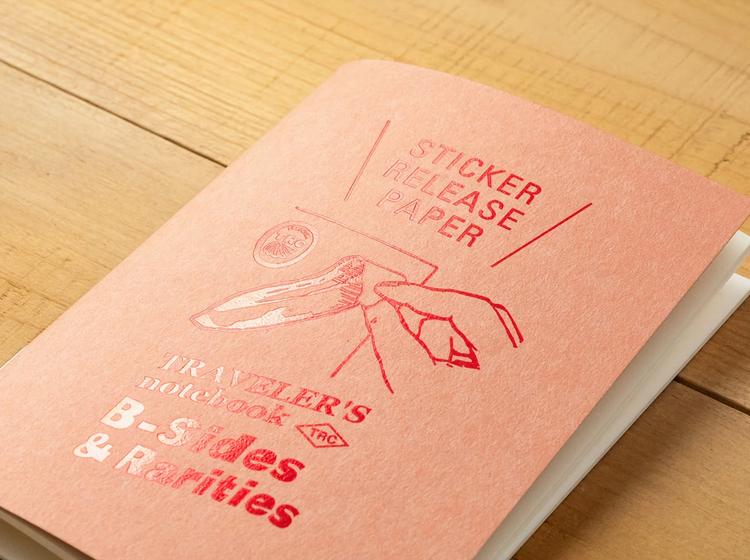 Traveler's Company Traveler's notebook - Sticker Release Paper, Passport Size (B-Sides & Rarities)