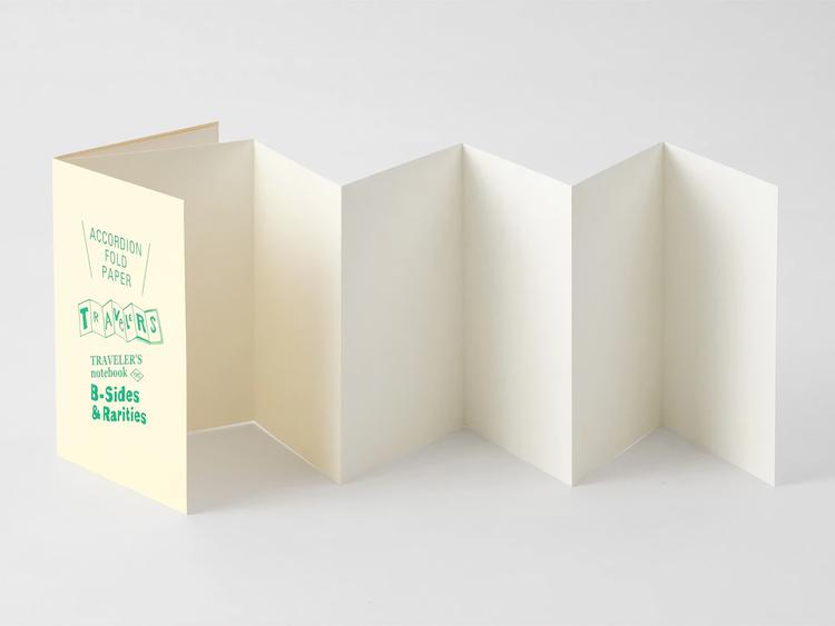 Traveler's Company Traveler's notebook - Accordion Fold Paper, Passport Size (B-Sides & Rarities)