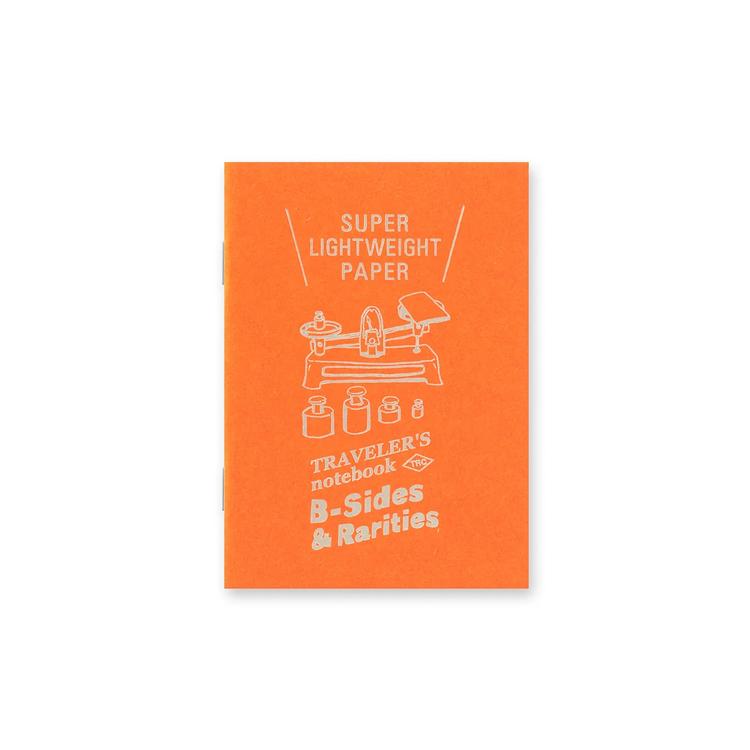 Traveler's Company Traveler's notebook - Super Lightweight Paper, Passport Size (B-Sides & Rarities)