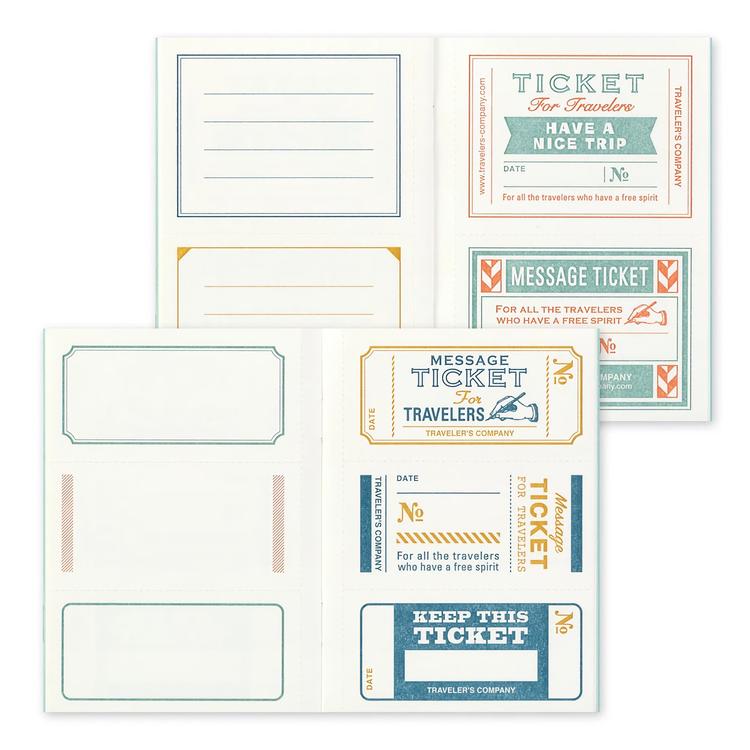 Traveler's Company Traveler's notebook - Message Card, Passport Size (B-Sides & Rarities)