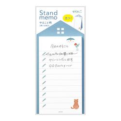 Midori Stand Memo Pad Vertical List