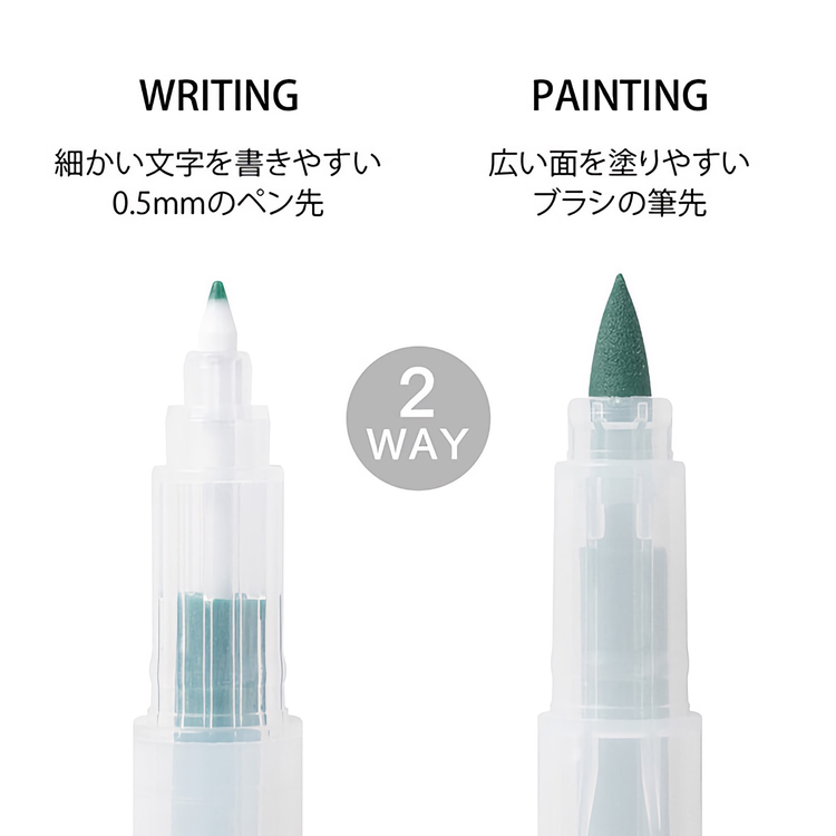 Midori Colorpens for Paintable Stamps Color B
