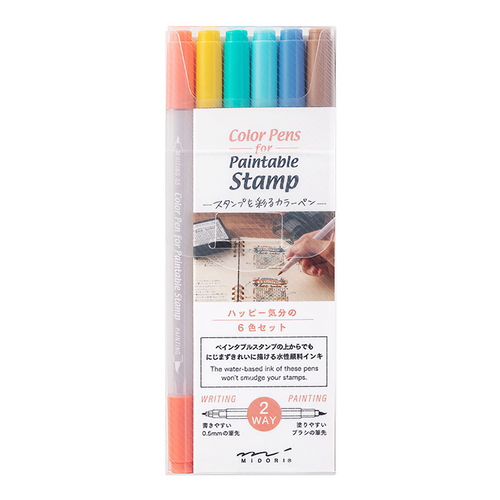 Midori Colorpens for Paintable Stamps Color C