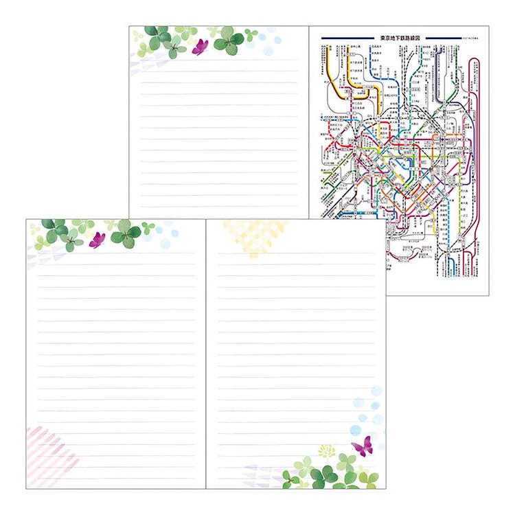 Midori MD 2022 Pocket Diary Mini Clover