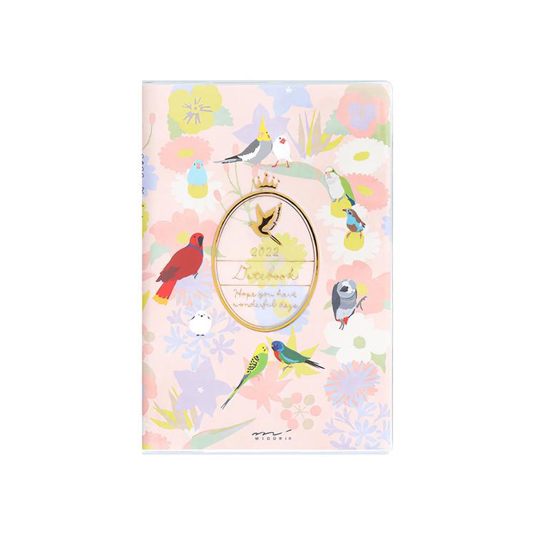 Midori MD 2022 Pocket Diary Mini Bird