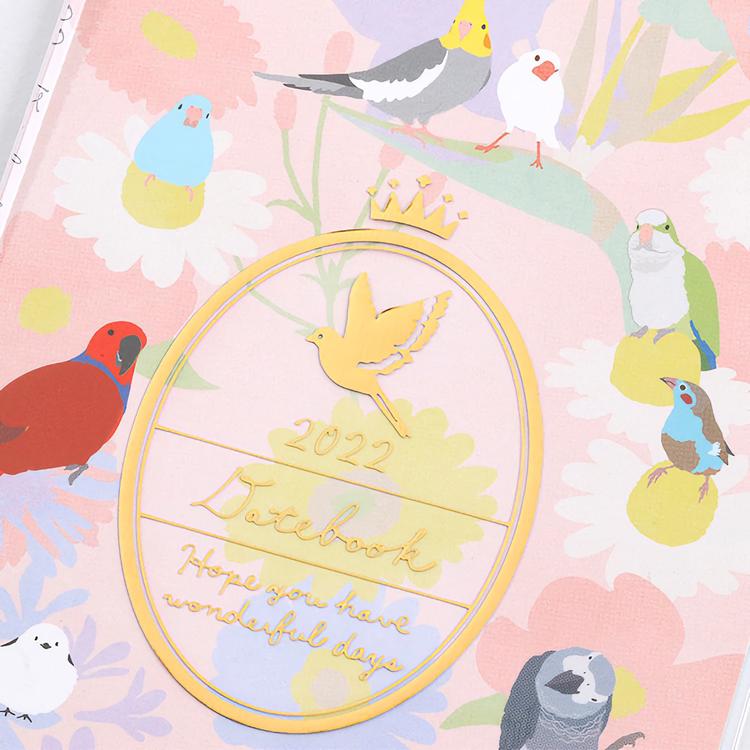 Midori MD 2022 Pocket Diary Slim Bird