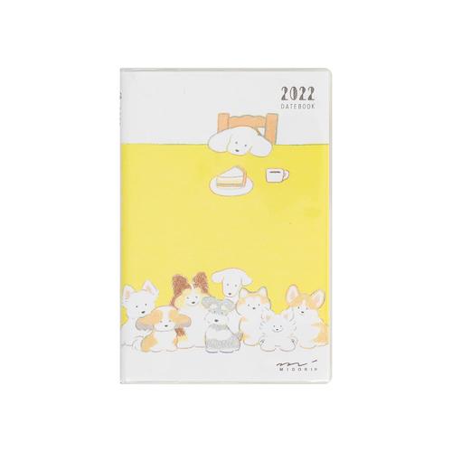 Midori MD 2022 Pocket Diary Mini Dog
