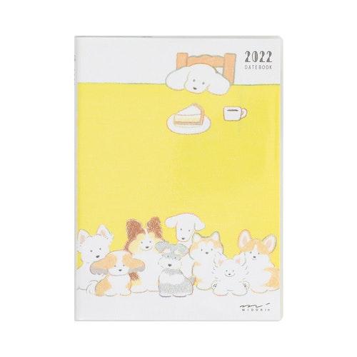 Midori MD 2022 Pocket Diary A6 Dog
