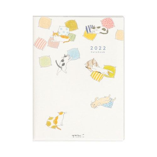 Midori MD 2022 Pocket Diary A6 Cat