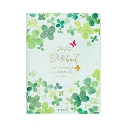 Midori MD 2022 Pocket Diary A6 Clover