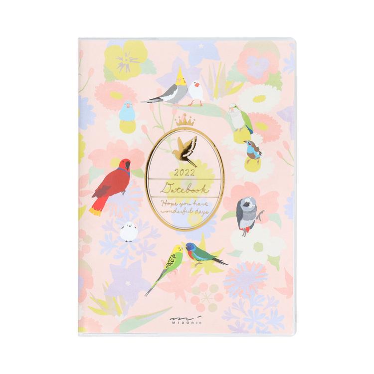 Midori MD 2022 Pocket Diary A6 Bird