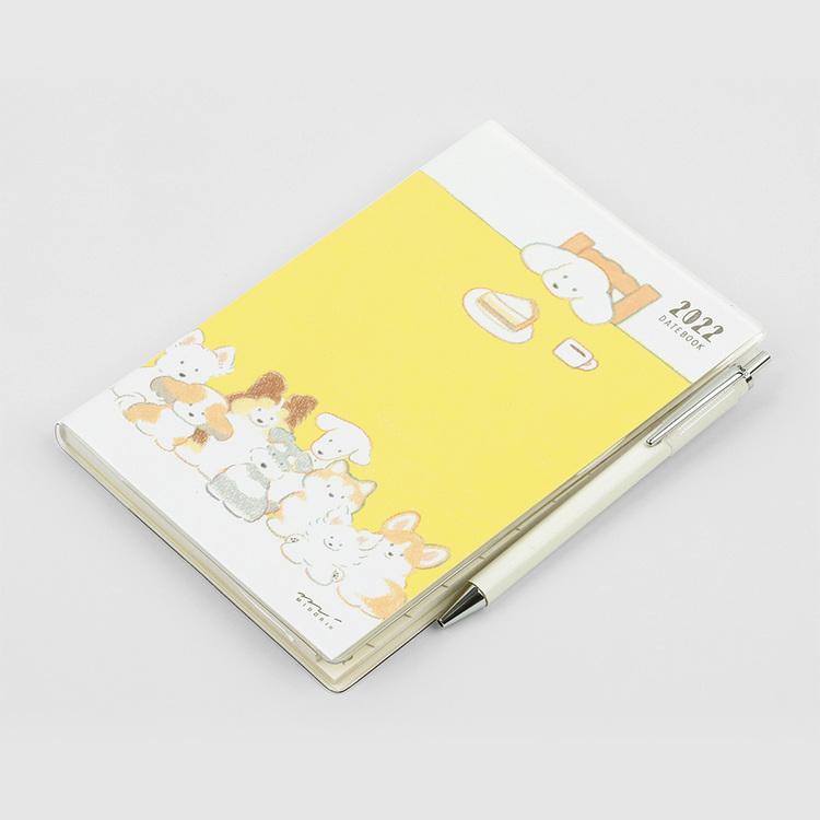 Midori MD 2022 Pocket Diary B6 Dog