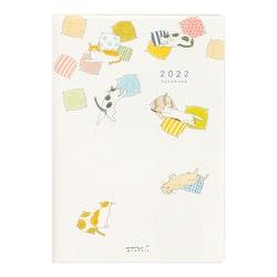 Midori MD 2022 Pocket Diary B6 Cat