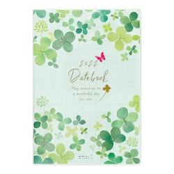 Midori MD 2022 Pocket Diary B6 Clover