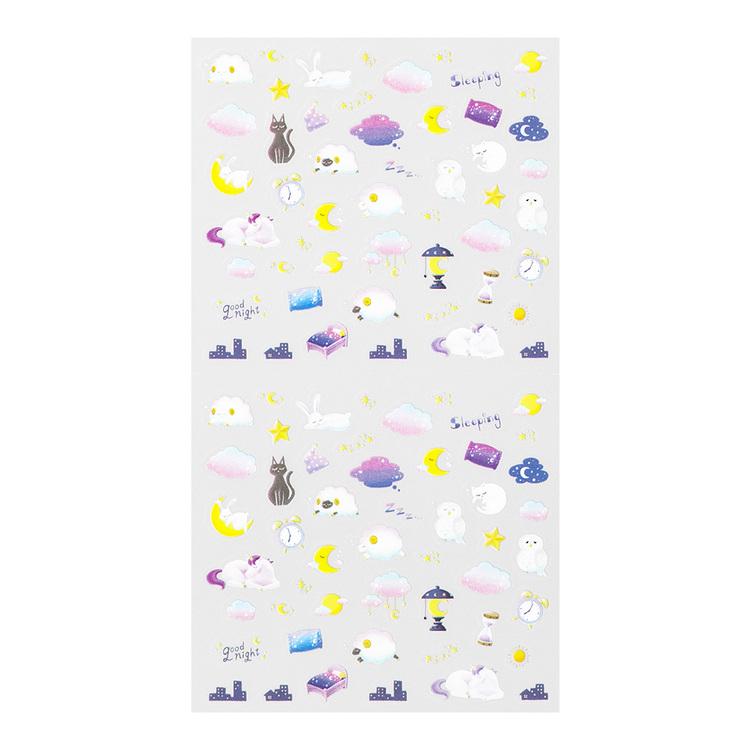 Midori 2022 Diary Sticker Health Sleep