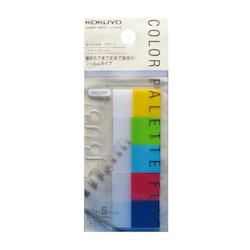 Kokuyo Color Palette Index Page Flags 5 Colors Large