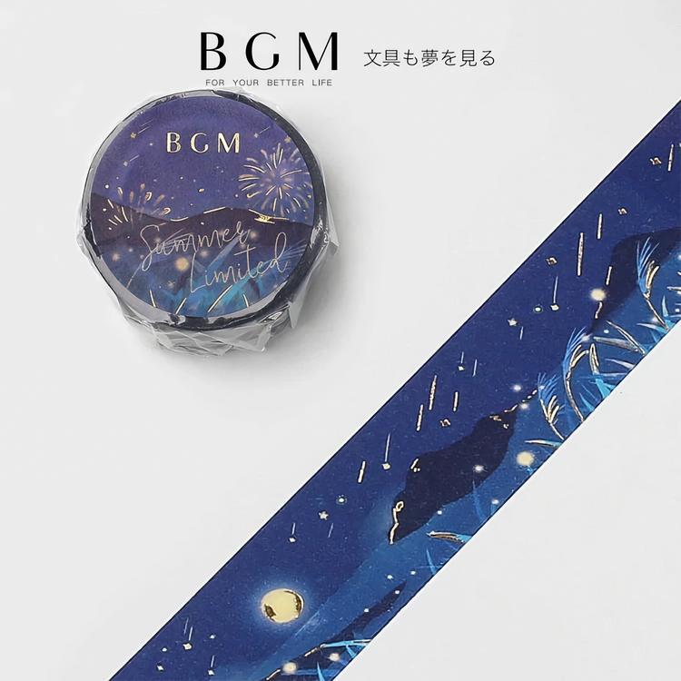 BGM Washi Tape Summer Limited 2021 Summer Night 20 mm