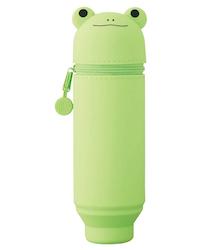 Lihit Lab Smart Fit PuniLabo Stand Pen Case Big Size Frog Limited Edition