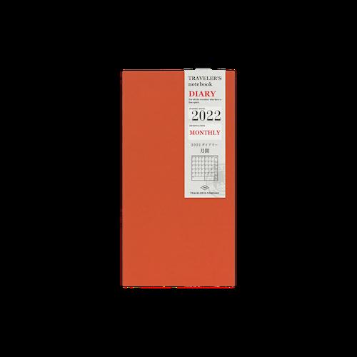 Traveler's Company Traveler's notebook - 2022 Monthly, Regular Size