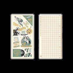 Traveler's Company Traveler's notebook - 2022 Underlay Plastic Sheet, Regular size