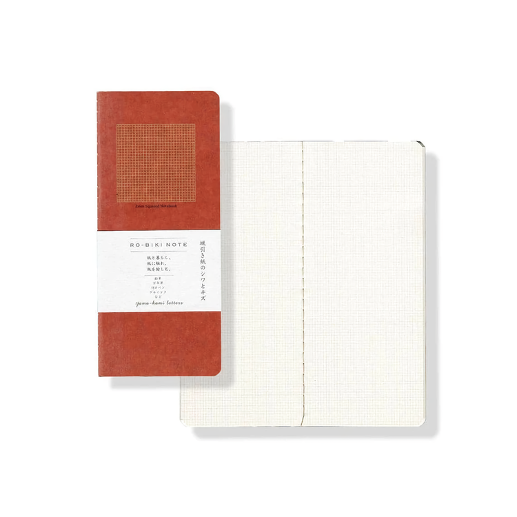 Yamamoto Ro-Biki Notebook Basic Rutad