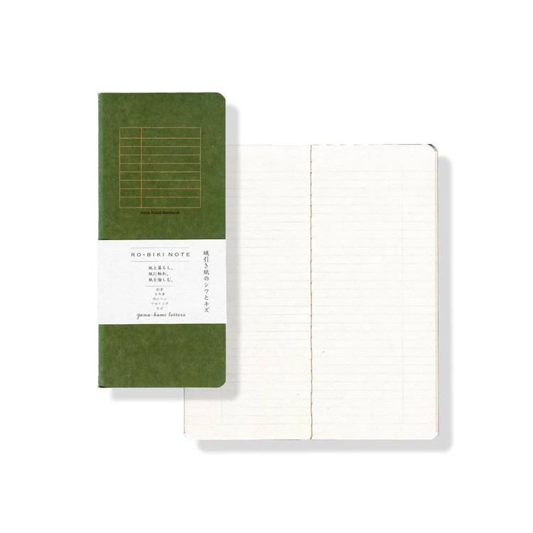 Yamamoto Ro-Biki Notebook Basic Linjerad