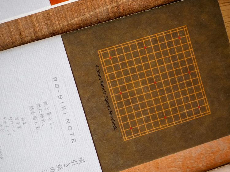 Yamamoto Ro-Biki Notebook Basic Rutad (4,5 mm)