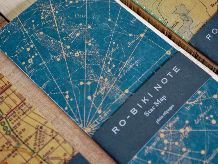 Yamamoto Ro-Biki Notebook Star Map Blank