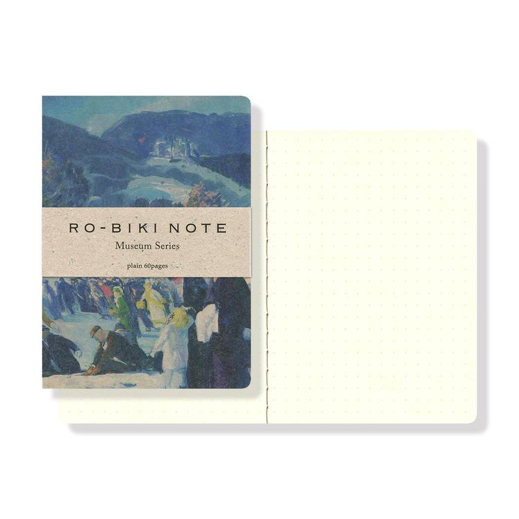 Yamamoto Ro-Biki Notebook Museum Winter Dot grid