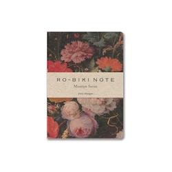 Yamamoto Ro-Biki Notebook Museum Flower Dot grid