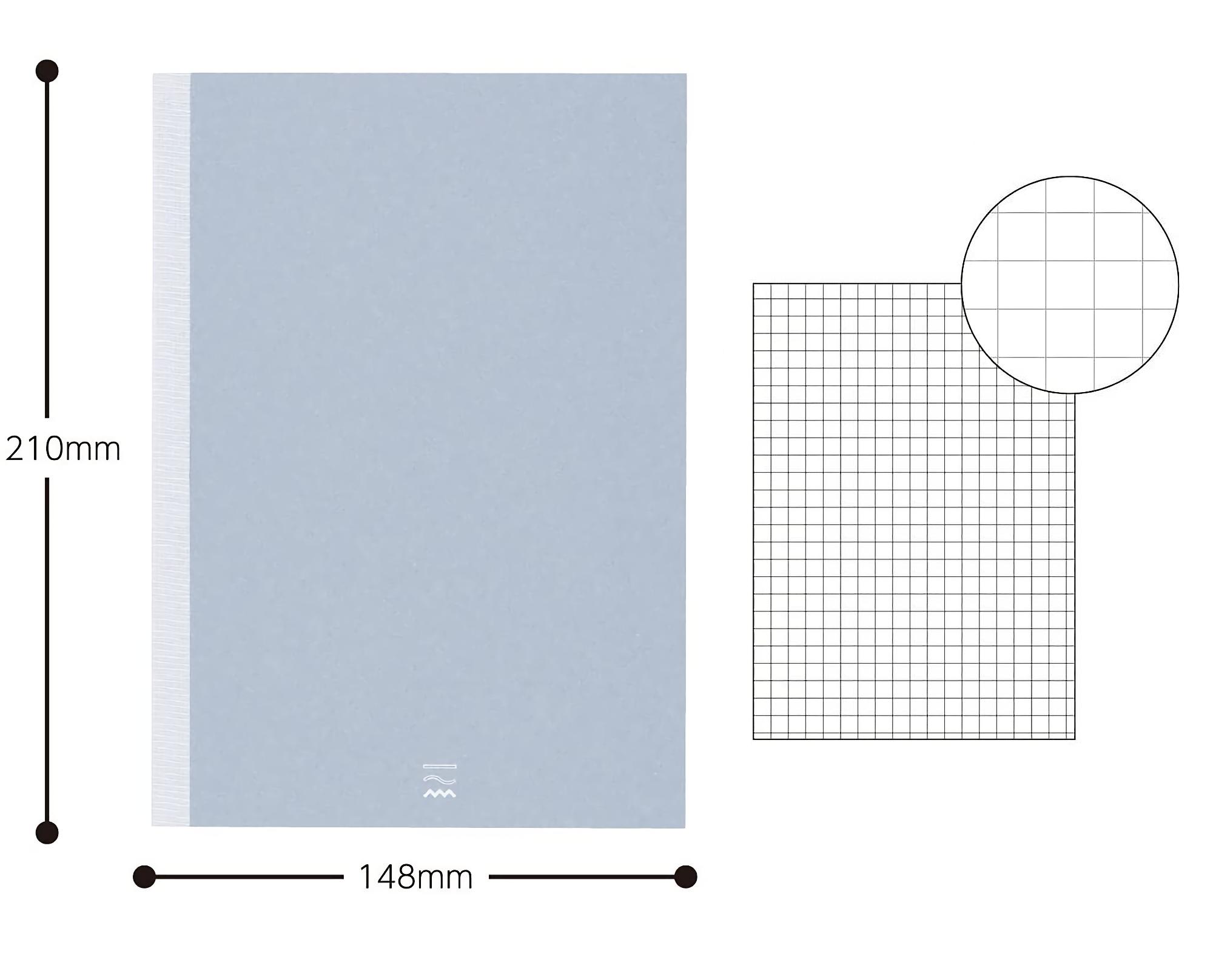 Kokuyo PERPANEP Notebook - Zara Zara A5 4 mm Rutad
