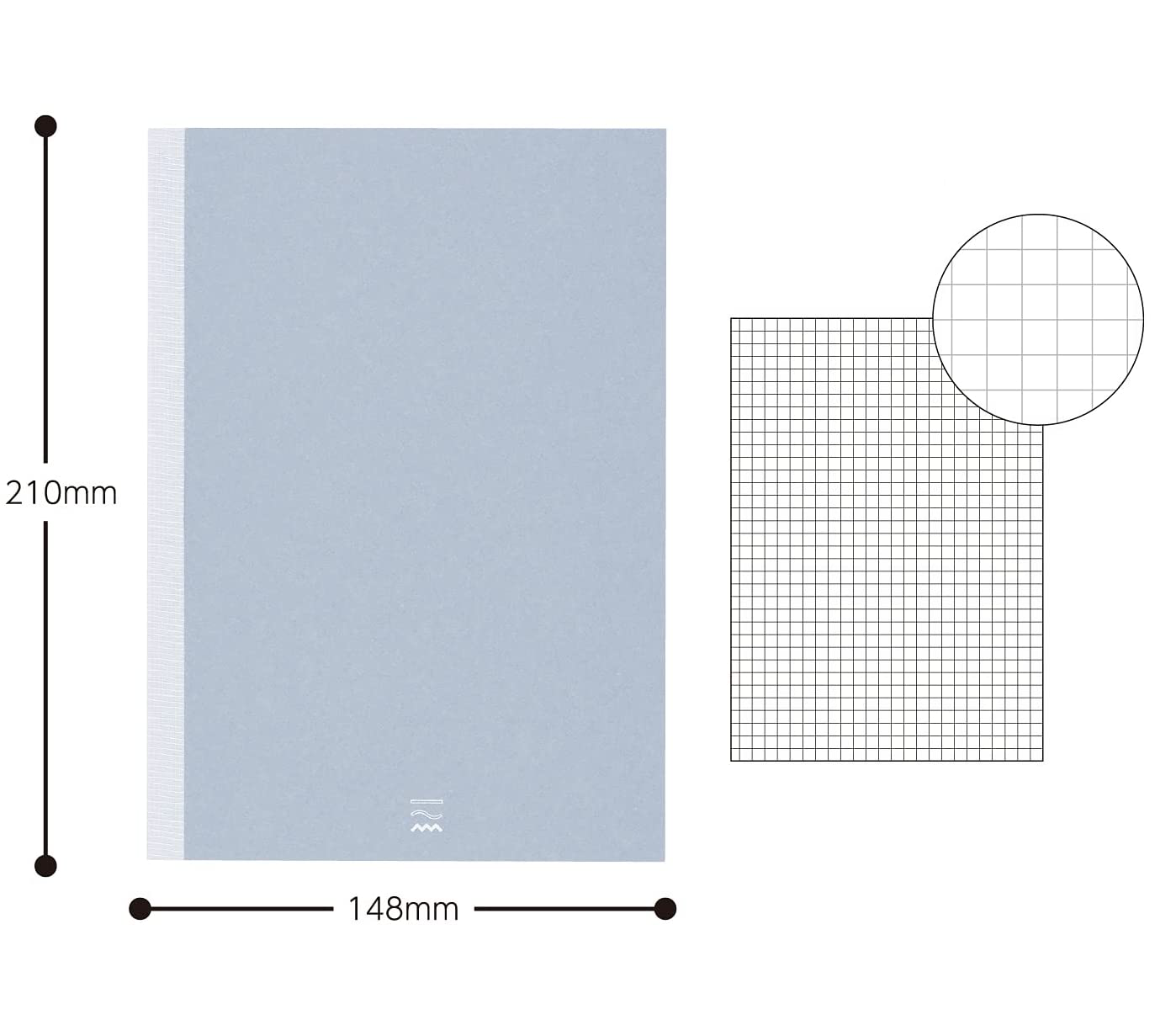 Kokuyo PERPANEP Notebook - Zara Zara A5 3 mm Rutad