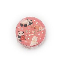 BGM Washi Tape Zoo 15 mm