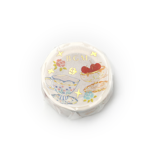 BGM Washi Tape Tea Cup 20 mm