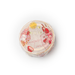 BGM Washi Tape Animal Sweets 15 mm