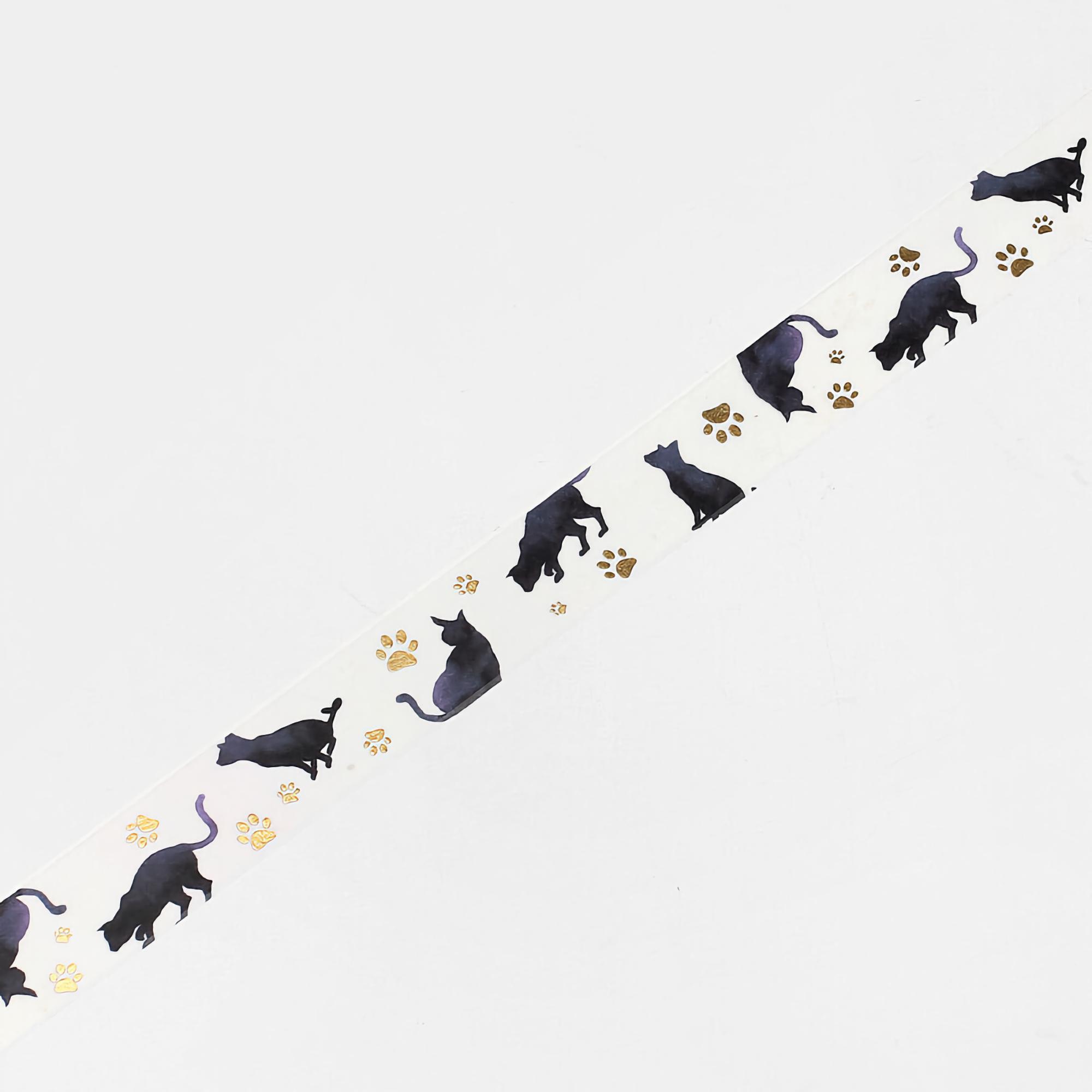 BGM Washi Tape Black Cat 20 mm