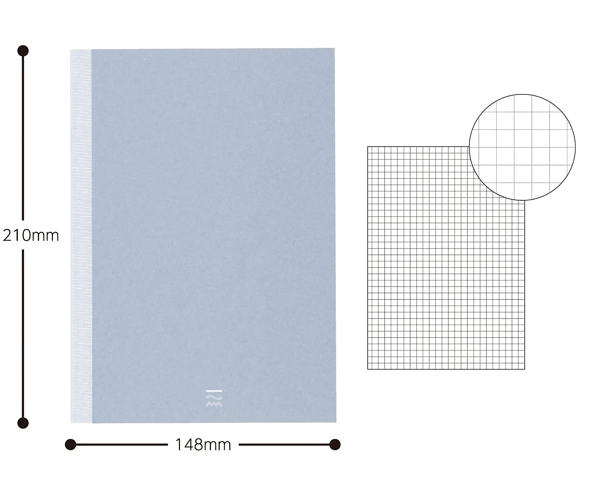 Kokuyo PERPANEP Notebook - Tsuru Tsuru A5 3 mm Rutad