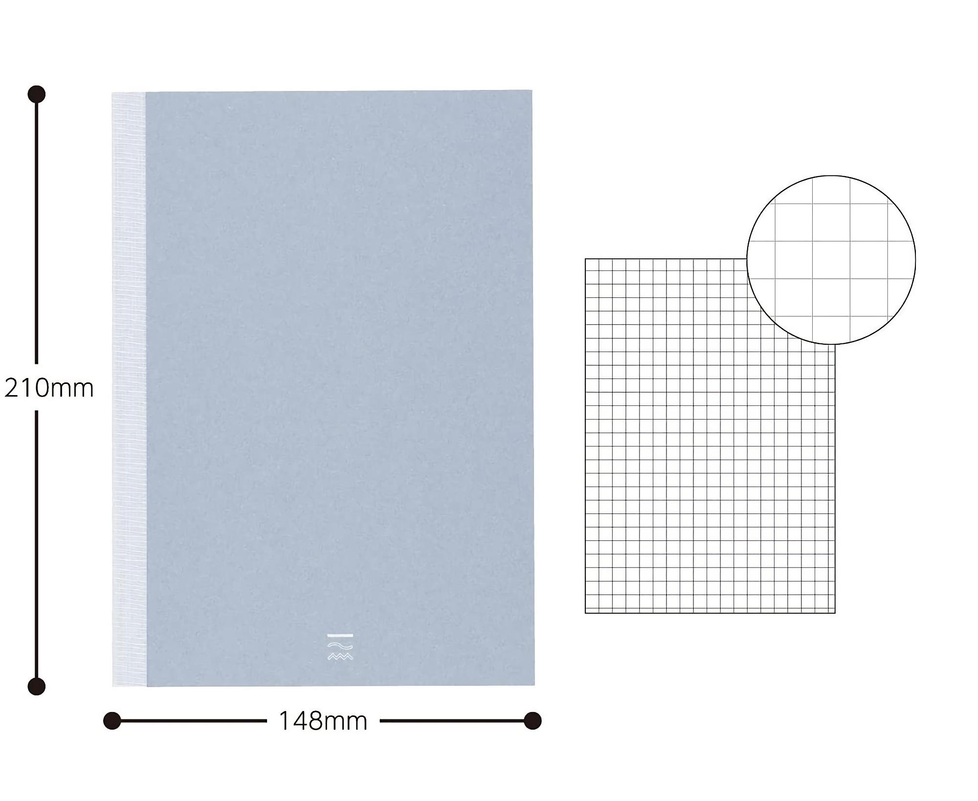 Kokuyo PERPANEP Notebook - Tsuru Tsuru A5 4 mm Rutad