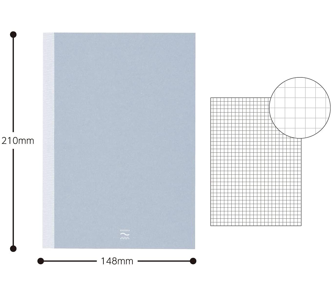 Kokuyo PERPANEP Notebook - Sara Sara A5 3 mm Rutad