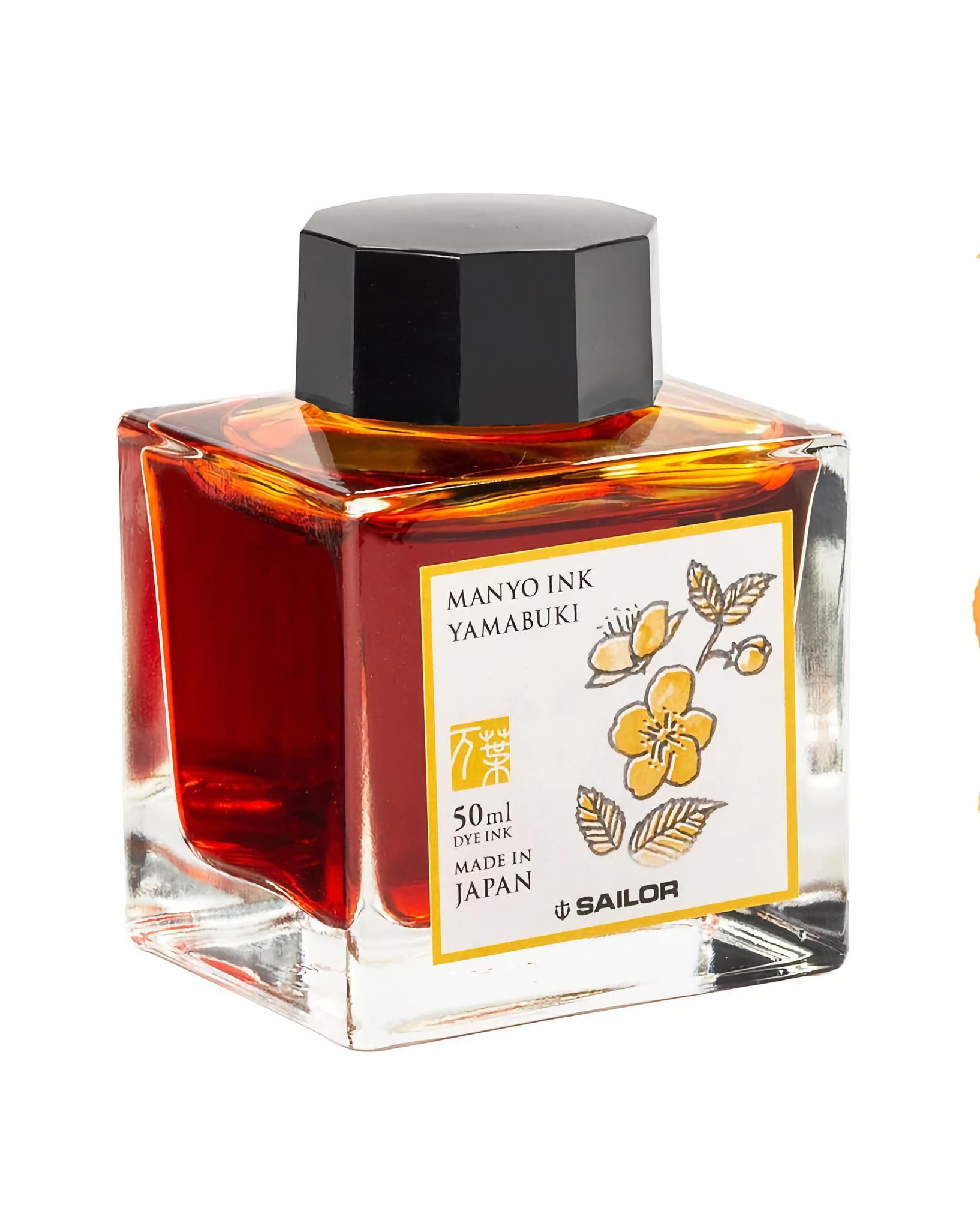 Sailor Manyo Ink Yamabuki 50 ml