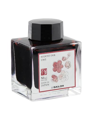 Sailor Manyo Ink Ume 50 ml
